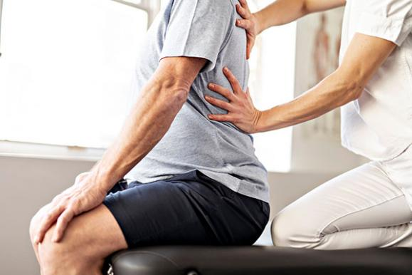 Séance chiropraxie
